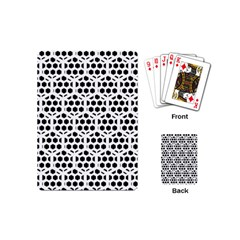 Seamless Honeycomb Pattern Playing Cards (mini)