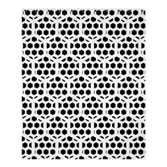Seamless Honeycomb Pattern Shower Curtain 60  X 72  (medium)