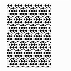 Seamless Honeycomb Pattern Small Garden Flag (two Sides)