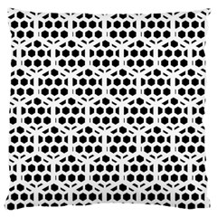 Seamless Honeycomb Pattern Large Cushion Case (two Sides)