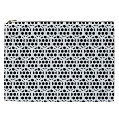 Seamless Honeycomb Pattern Cosmetic Bag (xxl)