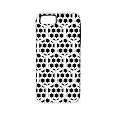 Seamless Honeycomb Pattern Apple Iphone 5 Classic Hardshell Case (pc+silicone)
