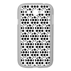 Seamless Honeycomb Pattern Samsung Galaxy Grand Duos I9082 Case (white)