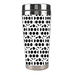 Seamless Honeycomb Pattern Stainless Steel Travel Tumblers