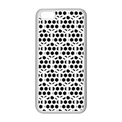 Seamless Honeycomb Pattern Apple Iphone 5c Seamless Case (white)