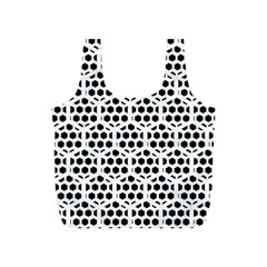 Seamless Honeycomb Pattern Full Print Recycle Bags (s)