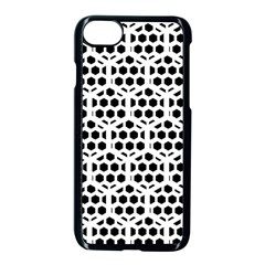 Seamless Honeycomb Pattern Apple Iphone 7 Seamless Case (black)