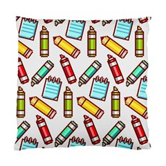 Seamless Pixel Art Pattern Standard Cushion Case (one Side)