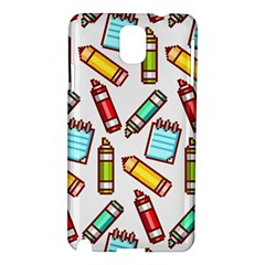 Seamless Pixel Art Pattern Samsung Galaxy Note 3 N9005 Hardshell Case