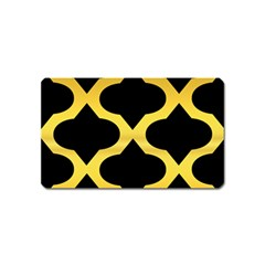 Seamless Gold Pattern Magnet (name Card)