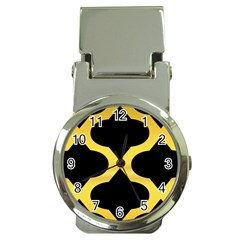 Seamless Gold Pattern Money Clip Watches