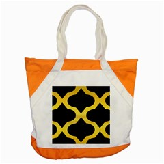 Seamless Gold Pattern Accent Tote Bag