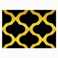 Seamless Gold Pattern Large Glasses Cloth