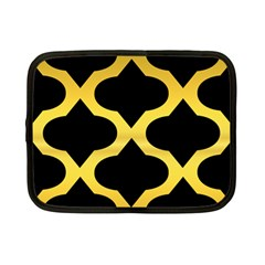 Seamless Gold Pattern Netbook Case (small)