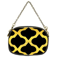 Seamless Gold Pattern Chain Purses (one Side)