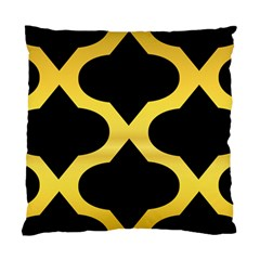 Seamless Gold Pattern Standard Cushion Case (one Side)