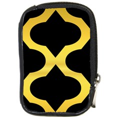 Seamless Gold Pattern Compact Camera Cases