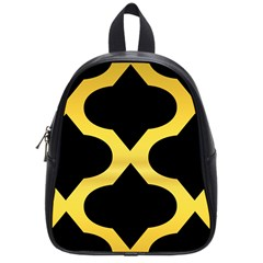Seamless Gold Pattern School Bags (small)