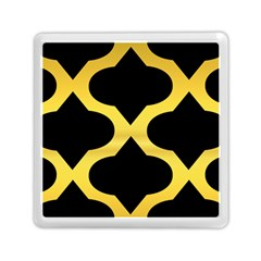 Seamless Gold Pattern Memory Card Reader (square)