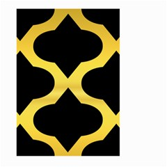 Seamless Gold Pattern Large Garden Flag (two Sides)