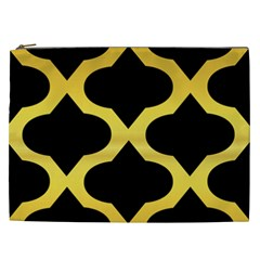 Seamless Gold Pattern Cosmetic Bag (xxl)