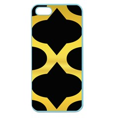 Seamless Gold Pattern Apple Seamless Iphone 5 Case (color)