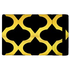 Seamless Gold Pattern Apple Ipad 2 Flip Case