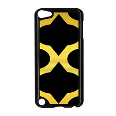 Seamless Gold Pattern Apple Ipod Touch 5 Case (black)