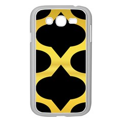 Seamless Gold Pattern Samsung Galaxy Grand Duos I9082 Case (white)