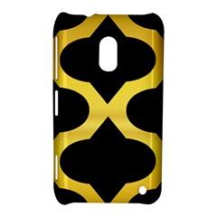 Seamless Gold Pattern Nokia Lumia 620