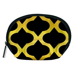 Seamless Gold Pattern Accessory Pouches (medium)