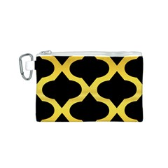 Seamless Gold Pattern Canvas Cosmetic Bag (s)