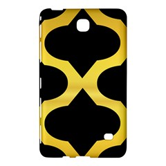 Seamless Gold Pattern Samsung Galaxy Tab 4 (7 ) Hardshell Case