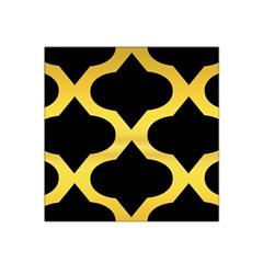 Seamless Gold Pattern Satin Bandana Scarf