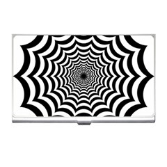 Spider Web Hypnotic Business Card Holders