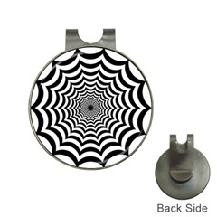 Spider Web Hypnotic Hat Clips with Golf Markers