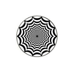 Spider Web Hypnotic Hat Clip Ball Marker