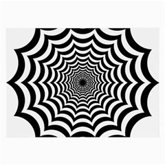 Spider Web Hypnotic Large Glasses Cloth (2 Side)