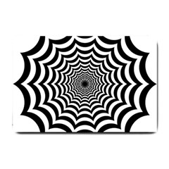 Spider Web Hypnotic Small Doormat