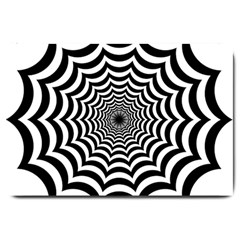 Spider Web Hypnotic Large Doormat