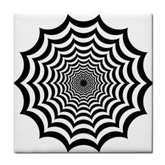 Spider Web Hypnotic Face Towel
