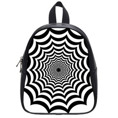 Spider Web Hypnotic School Bags (small)