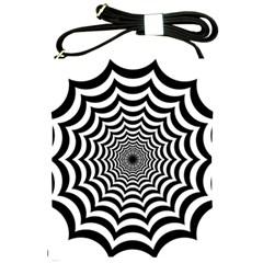 Spider Web Hypnotic Shoulder Sling Bags