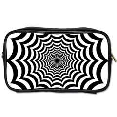 Spider Web Hypnotic Toiletries Bags 2 Side