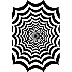 Spider Web Hypnotic 5 5  X 8 5  Notebooks