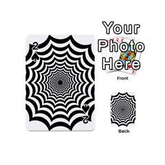 Spider Web Hypnotic Playing Cards 54 (mini)