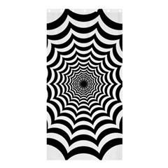 Spider Web Hypnotic Shower Curtain 36  X 72  (stall)