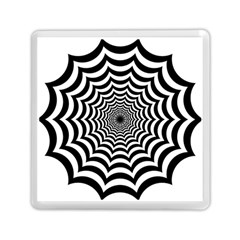 Spider Web Hypnotic Memory Card Reader (square)