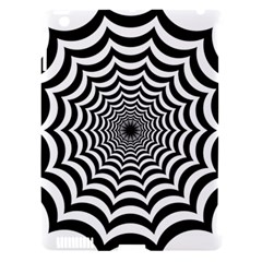 Spider Web Hypnotic Apple Ipad 3/4 Hardshell Case (compatible With Smart Cover)