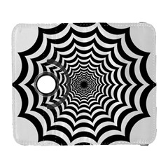 Spider Web Hypnotic Galaxy S3 (flip/folio)